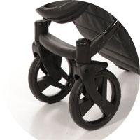 Система поворотных колес с возможностью блокировки для езды прямо